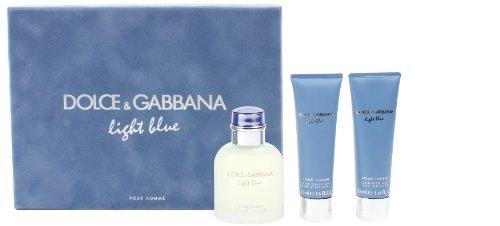 Dolce-Gabbana-Light-Blue-pour-Geschenkset-homme-men-Eau-de-Toilette-Vaporisateur-Spray-75-ml-Aftershave-Balm-50-ml-Duschgel-50-ml-1er-Pack-1-x-175-ml-0