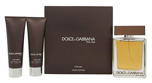 Dolce-Gabbana-The-One-Geschenkset-100ml-EDT-50ml-Aftershave-Balsam-50ml-Duschgel-0
