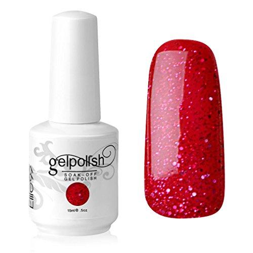 Elite99-Gelish-UV-LED-Gel-auflsbarer-Nagellack-Nagelgel-Gellack-glitzer-fascinating-rot-1-x-15-ml-0