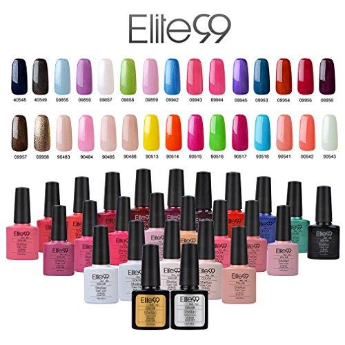 elite99 uv nagellack gel polish farbgel nagelgel gellack. Black Bedroom Furniture Sets. Home Design Ideas