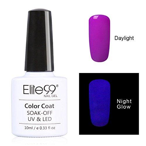 Elite99-UV-Nagellack-Nail-Gel-Polish-Neon-Fluorescent-Leucht-Effekt-Nagelgel-NEU-Soak-off-UV-LED1x10ML-0
