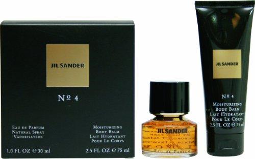 Jil-Sander-No-4-Geschenkset-femme-woman-Eau-de-Parfum-Vaporisateur-Spray-30-ml-Bodylotion-75-ml-1er-Pack-1-x-105-ml-0
