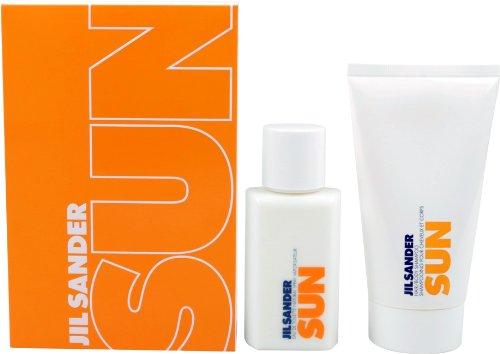 Jil-Sander-Sun-Geschenkset-femme-woman-EDT-Vaporisateur-Spray-75-ml-Duschgel-75-ml-1er-Pack-1-x-150-ml-0