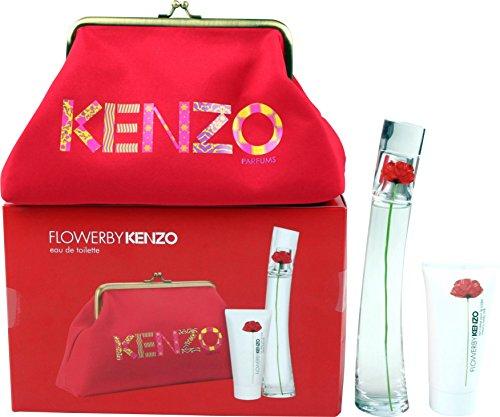 Kenzo-Flower-Geschenkset-femme-woman-Eau-de-Toilette-Vaporisateur-Spray-50-ml-Bodylotion-50-ml-1er-Pack-1-x-100-ml-0