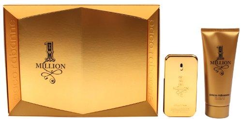 Paco-Rabanne-One-Million-Geschenkset-homme-men-Eau-de-Toilette-Vaporisateur-Spray-50-ml-Overall-Shampoo-100-ml-1er-Pack-1-x-150-ml-0