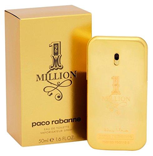 Paco-Rabanne-One-Million-homme-men-Eau-de-Toilette-Vaporisateur-Natural-Spray-50-ml-1er-Pack-1-x-50-ml-0
