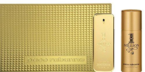 Paco-Rabnne-1-Million-Geschenkset-Eau-de-Toilette-Vapo-100-ml-Dedorant-Vapo-100ml-0