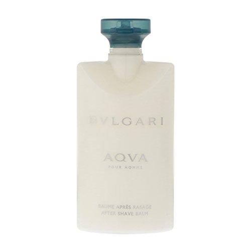 Bvlgari Aqva Herren Parfum, After Shave Balsam, Duschgel und Kosmetiktasche–1Pack 2