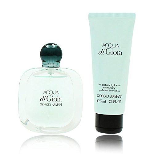 Giorgio Armani Acqua di Gioia Geschenkset femme, Eau de Parfum, Bodylotion, 1er Pack (1 x 1 Stück)
