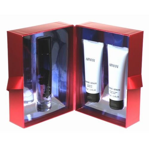 Armani Code, femme/woman, Geschenkset (Eau de Parfum, 50 ml + Duschgel, 75 ml + Bodylotion, 75 ml)