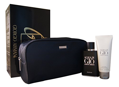 Giorgio Armani ARMANI ACQUA DI GIO PROFUMO Geschenkset : 75ml Eau De Parfum EDP, 75ml Shower Gel & Bag