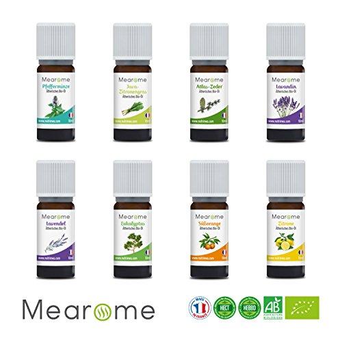 8 Atherische Bio Ole Aromatherapie Set 100 Naturrein Ideal