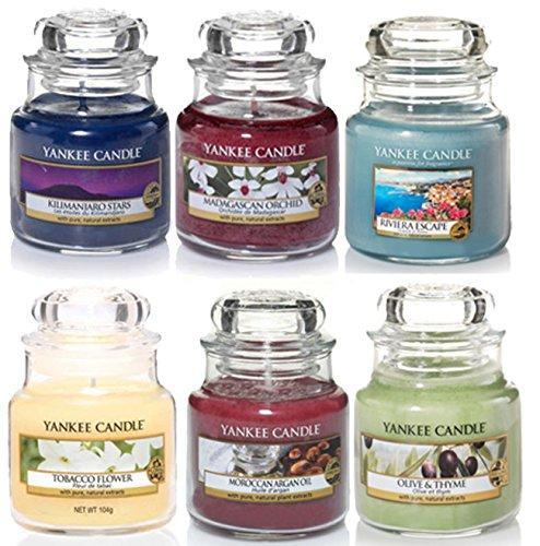 yankee candle mini duftkerzen im glas geschenkset mit 6 verschiedenen klassischen duftkerzen. Black Bedroom Furniture Sets. Home Design Ideas